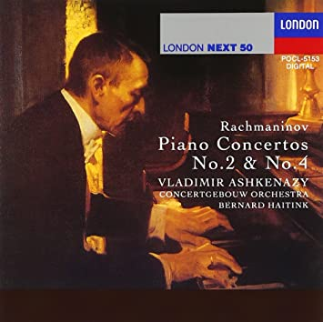 ラフマニノフ: ピアノ協奏曲第2番ハ短調&第4番ト短調