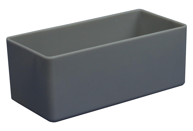 LxBxH aus Polystyrol 12 St/ück Sortierkasten gr/ün 99x49x40 mm