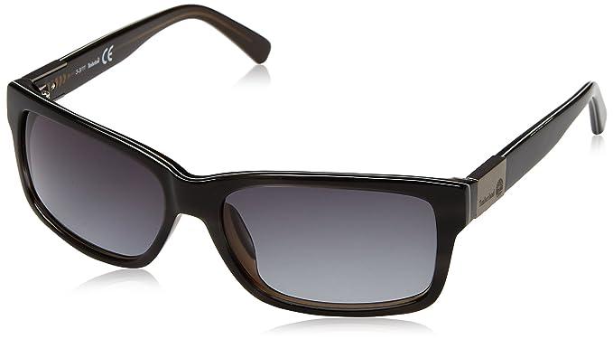 Timberland TB2124-5820B, Gafas de Sol para Hombre, Grey/Gradient Smoke,