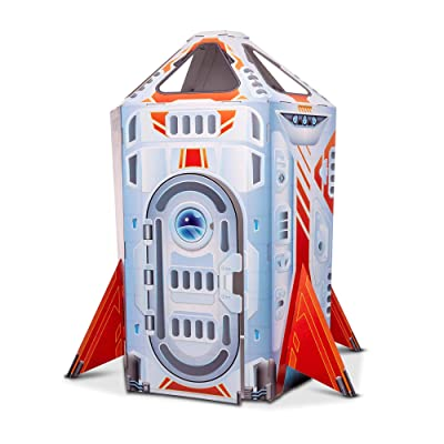 Melissa & Doug Rocket Ship Indoor Playhouse: Toys & Games