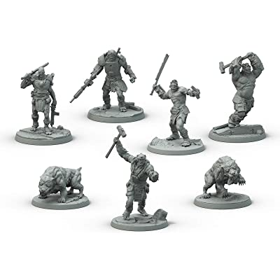 Fallout: Wasteland Warfare Super Mutants Core Box: Toys & Games