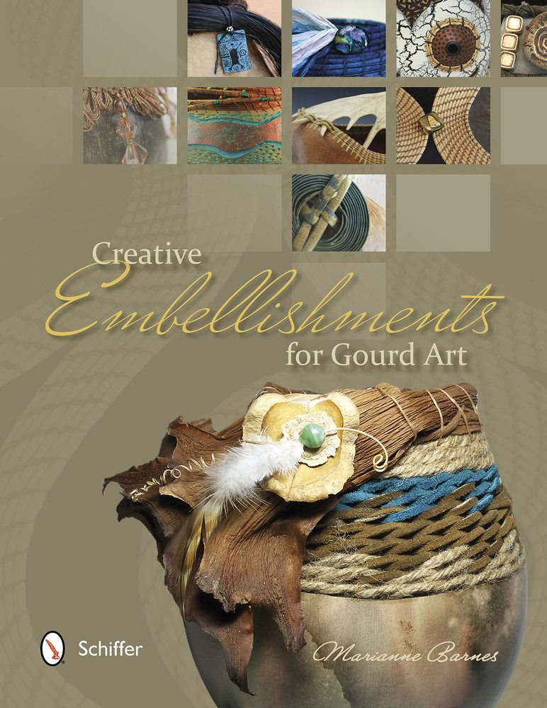 Creative Embellishments for Gourd Art