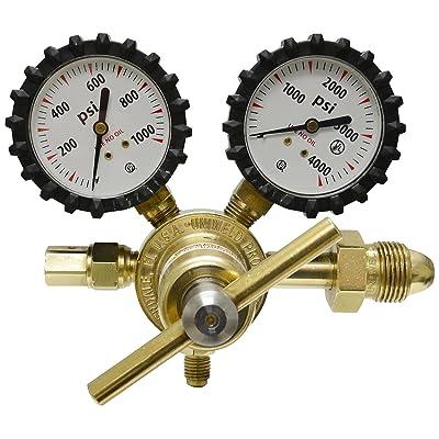 "Uniweld RHP800 Nitrogen Regulator with 0-800 psi Delivery Pressure, 2"""