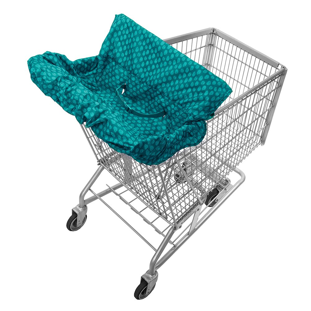 Infantino Fold Away Cart Cover, Teal 204-166