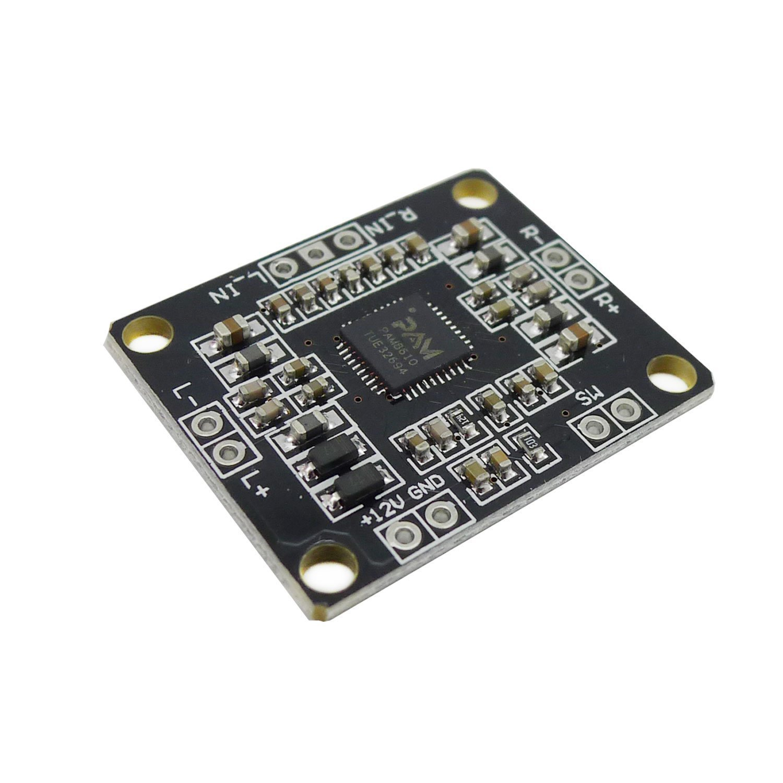 Wingoneer 12v Pam8610 Mini Class D Digital Power Details About Hifi Audio Stereo Amplifier Circuit Electronics