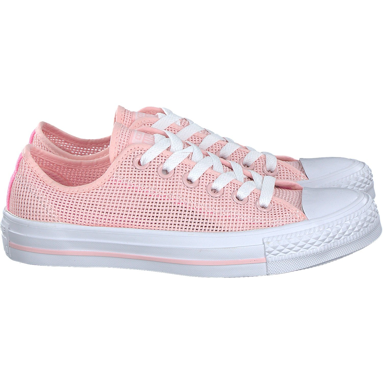 Disco Th soup  Women's Sports & Outdoors Converse All Star Ox Trainers Pink