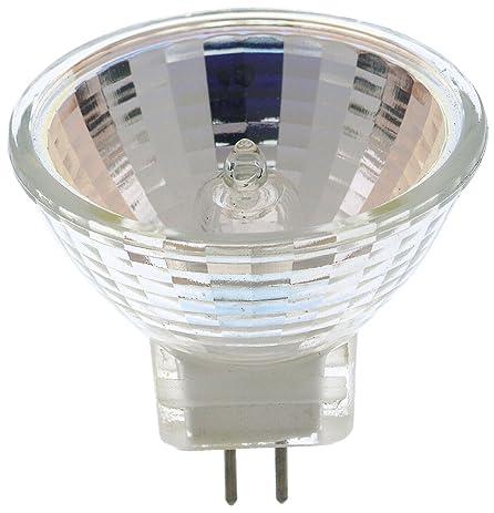 Satco S4618 50 Watt MR16 Halogen G8 Base 120 Volt Clear FL 38 Beam ...