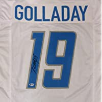$129 » Detroit Lions Kenny Golladay Autographed White Jersey Beckett BAS