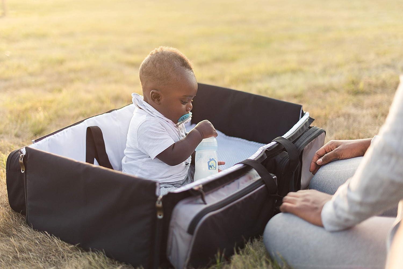 parque de juegos Bolsa bebe con cuna cambiador de viaje multifuncion Mois/és de viaje plegable