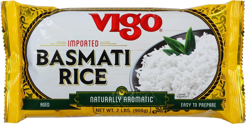 Vigo Arroz Basmati, 2-Pound Bag: Amazon.com: Grocery ...