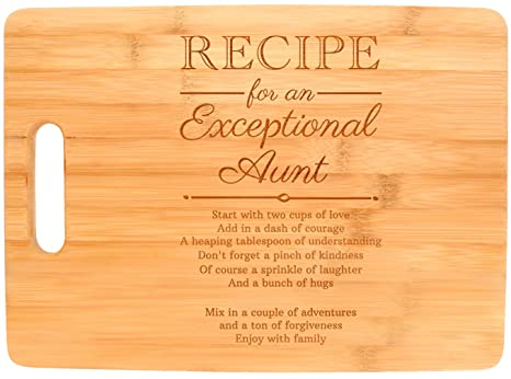 amazon com mothers day gifts for aunt recipe for an exceptional