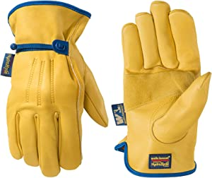 Men's HydraHyde Leather Work Gloves, Water-Resistant, XX-Large (Wells Lamont 1164XX)