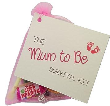 Mum To Be Survival Kit Gift Keepsake Baby Shower Gift For Mum