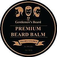 Balsamo da barba The Gentlemen's Beard Premium - 60ml - Addomestica la tua barba senza residui di olio - Dona un aspetto più folto - Senza profumo
