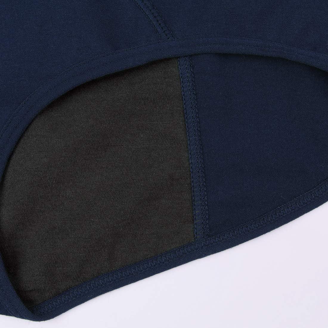 INNERSY Damen Perioden Unterw/äsche Baumwolle Auslaufsicher Menstruation Slip 3er Pack