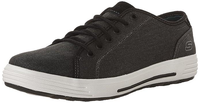 Skech-Air Porter Zevelo Sneaker para hombre, negro, US 7.5 W