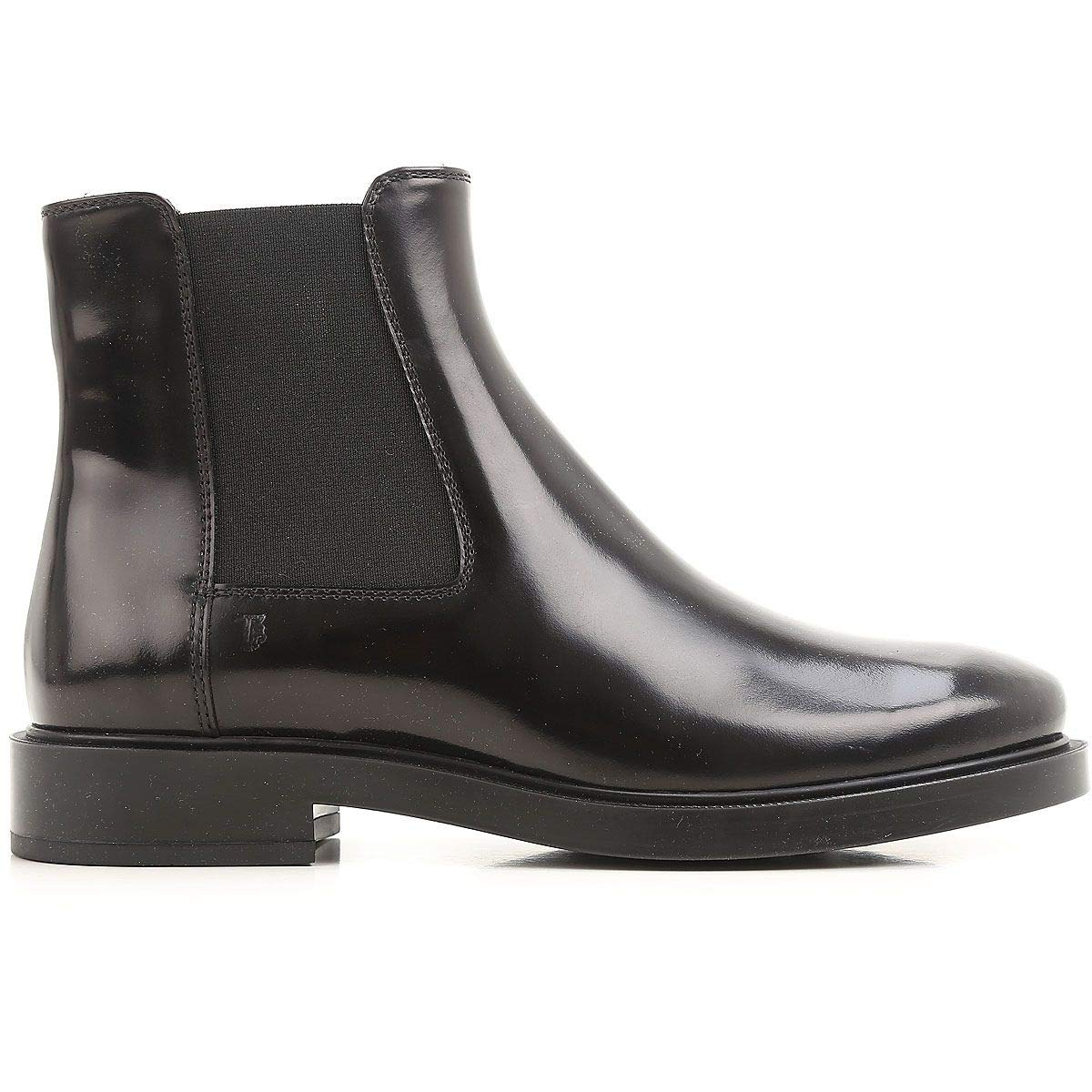 - Tod's Women's XXW0ZP0V830AKTB999 Black Leather Ankle Boots