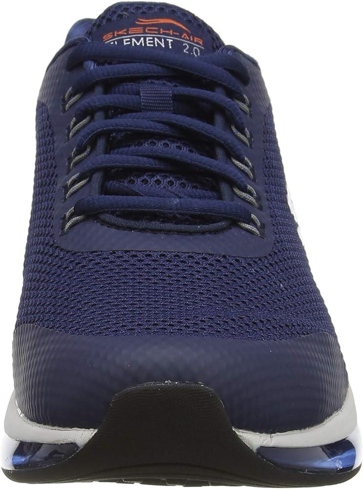 Skechers Herren Skech air Element 2.0 Sneaker, blau: Amazon