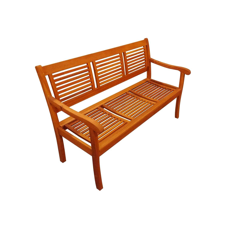 SAM Gartenbank, Cordoba 3-Sitzer 150 cm, akazie, 150 x 59,5 x 92,5 cm, 55244304