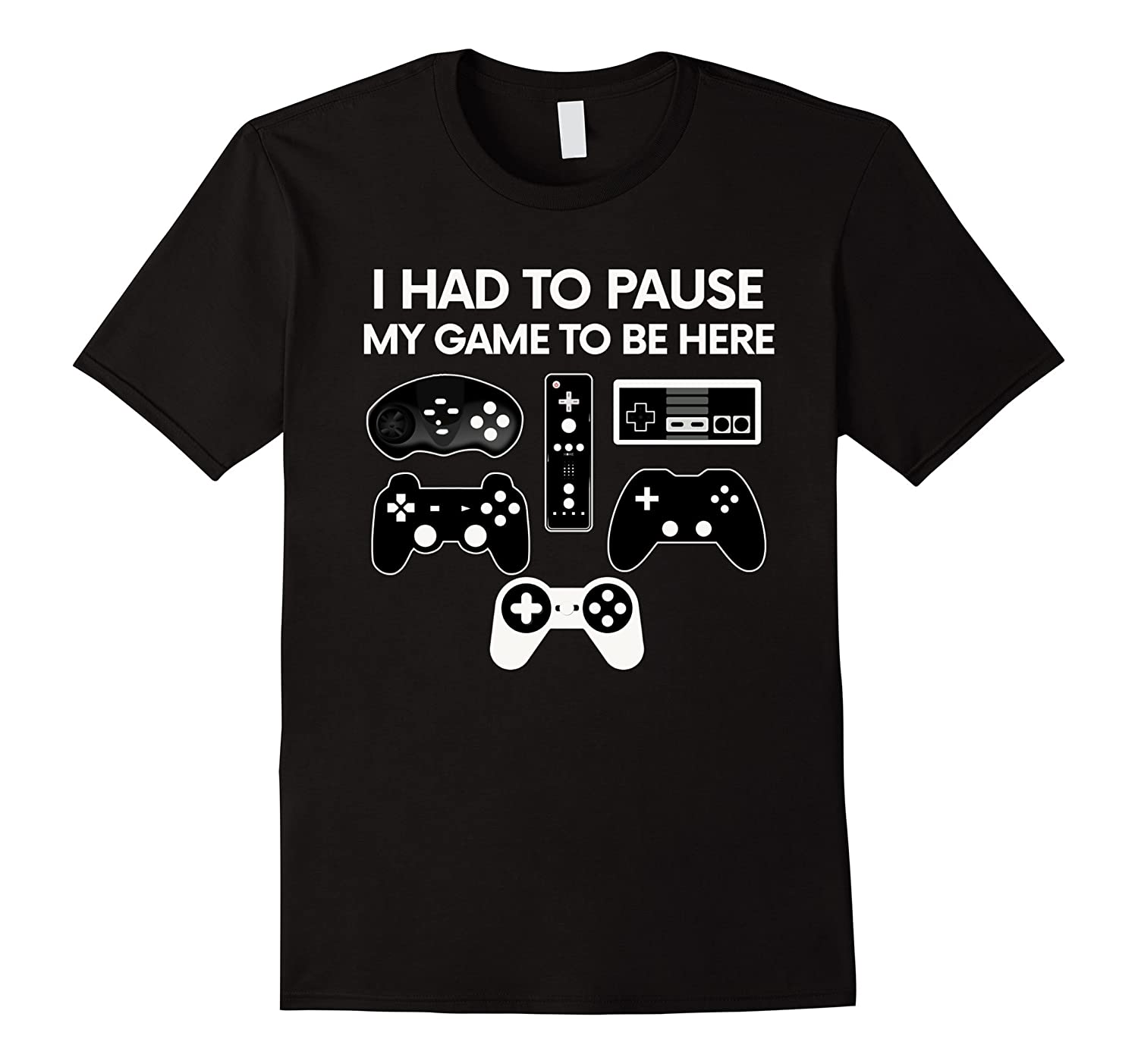Funny Video Game T-Shirt Christmas Gift Party Gamer Shirt-RT