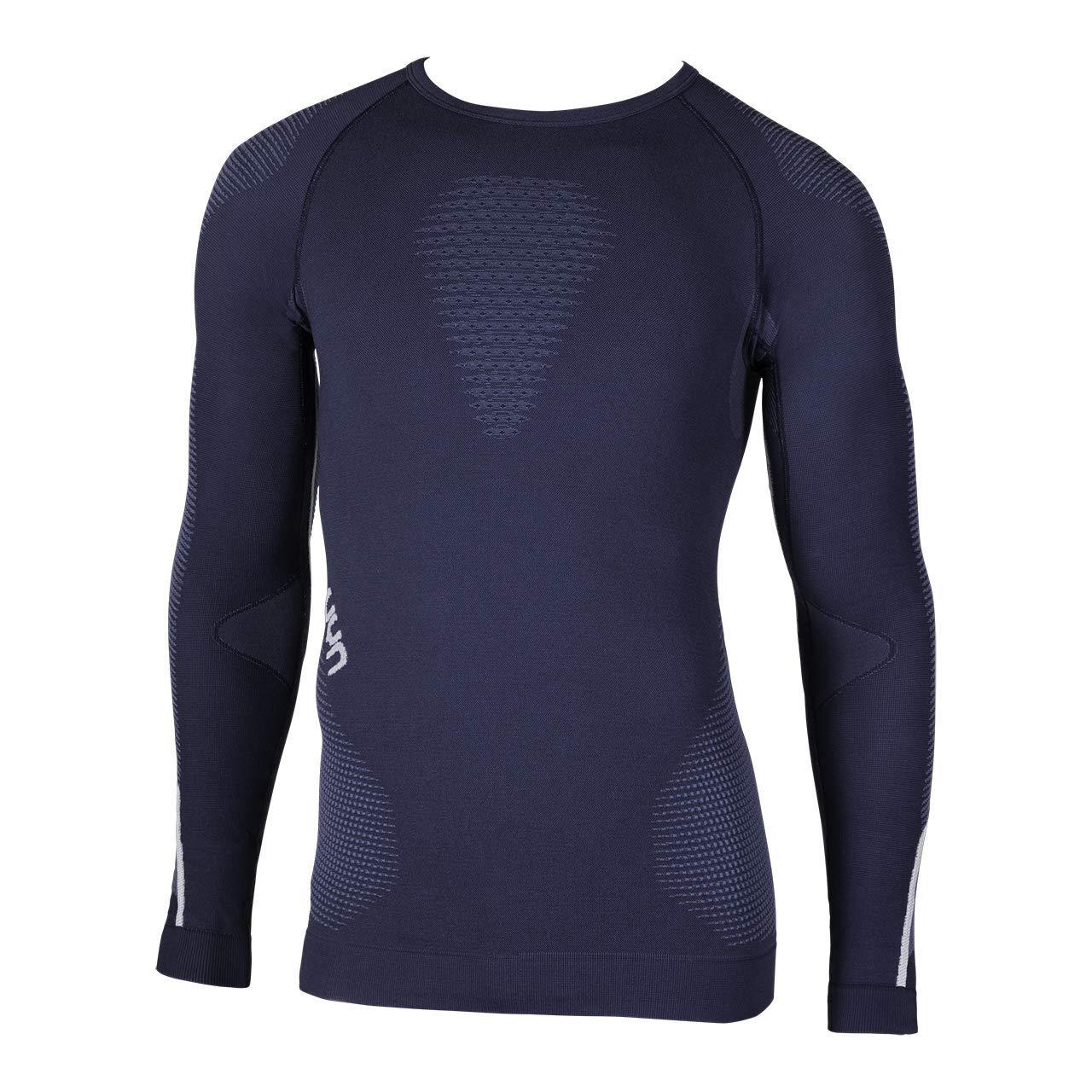 Deep bleu Avio blanc UYN Ambityon UW T-Shirt à Manches Longues pour Homme S M