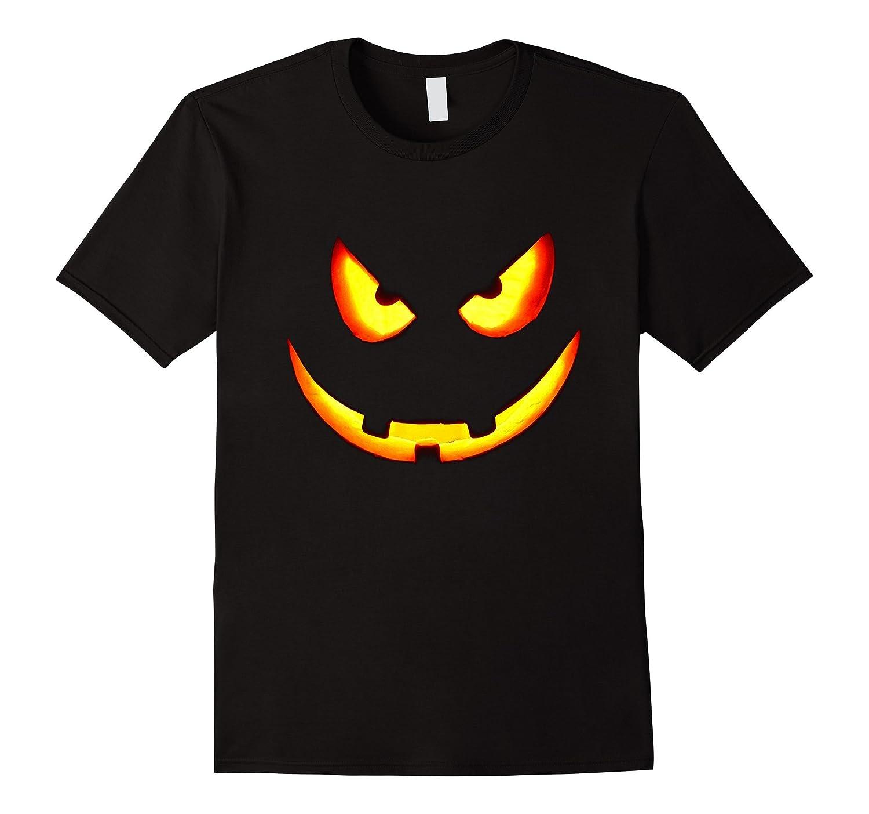Halloween Pumpkin Jack O Lantern Smile T-Shirt Perfect Gift-FL