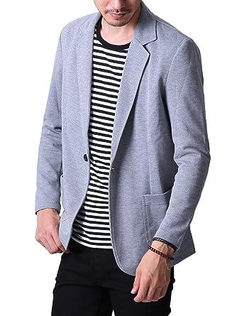 6c81c3e0e16bb liberte riche(リベルテ リッシュ) メンズ ジャケット テーラードジャケット スウェット ビジネス カジュアル 細身 ストレッチ  5color