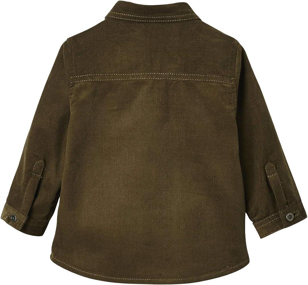 VERTBAUDET Camisa de Pana bebé niño Verde Oscuro Liso 9M-71CM: Amazon.es: Ropa y accesorios