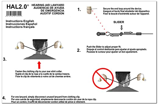 Amazon Hearing Aid Lanyard Strap 100 Compatibility With