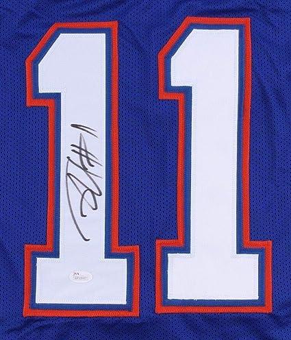 cc9e4e18e50 Image Unavailable. Image not available for. Color: Jordan Reed Autographed  Signed Memorabilia #11 Florida Gators ...