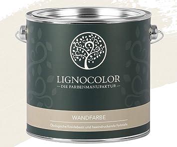 Lignocolor Wandfarbe Innenfarbe Deckenfarbe Edelmatt 2,5 L (Manhatten)