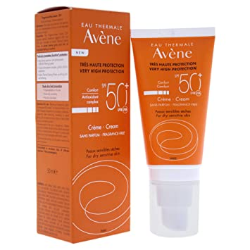 d1d36d45dd Avene Sun Care Cream with SPF 50 Plus, 50 ml: Amazon.co.uk: Health &  Personal Care