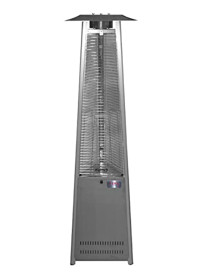 Captivating Island Fire U0026 Patio TF041SSH LP Tower Of Fire Propane Stainless Steel Patio  Heater
