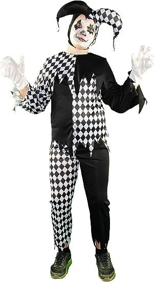 Halloween Kostume Jungs.Foxxeo Horror Clown Kostum Fur Jungen Kinder Kostume Halloween Fasching Karneval Grosse 158 164 Amazon De Spielzeug