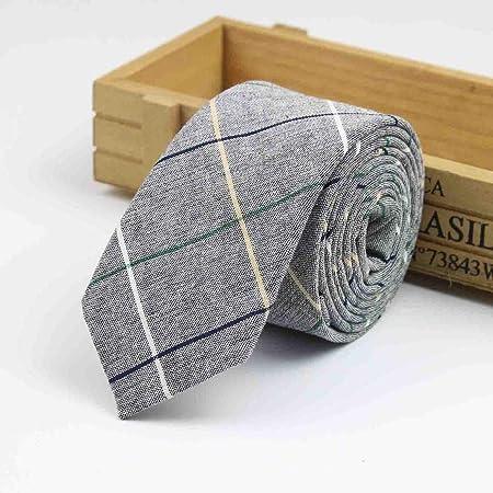 Gentle Corbata de algodón Corbata de Costura de Retazos de Color ...