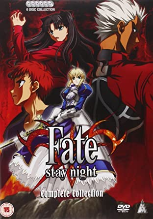 Amazon Com Fate Stay Night Complete Collection Dvd Movies Tv