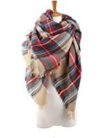 Spring fever Large Tartan Fashion Women Scarf Lovely Best Gift Scarf Wrap Shawl