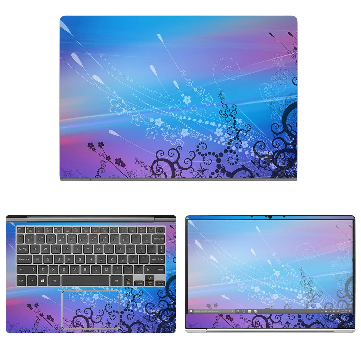Decalrus - Protective Decal Skin Sticker for LG Gram 13Z990 (13.3'' Screen) case Cover wrap LGgram_13z990-140