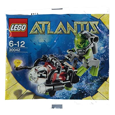 Lego Atlantis Mini Sub Polybag 30042: Toys & Games