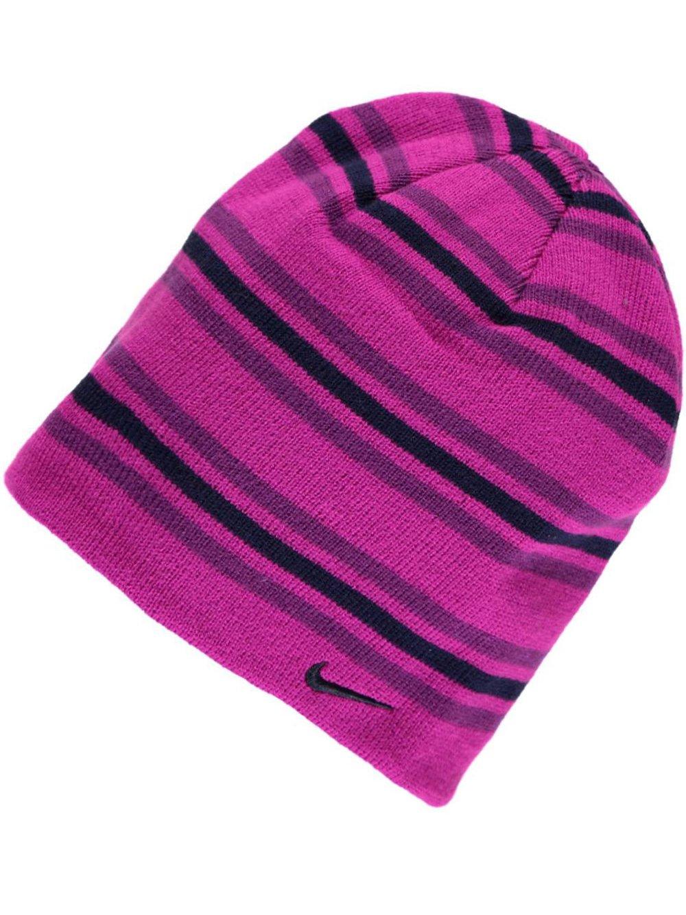 Nike Knit Beanie (Big Girls' One Size) - vivid grape, 7 - 16
