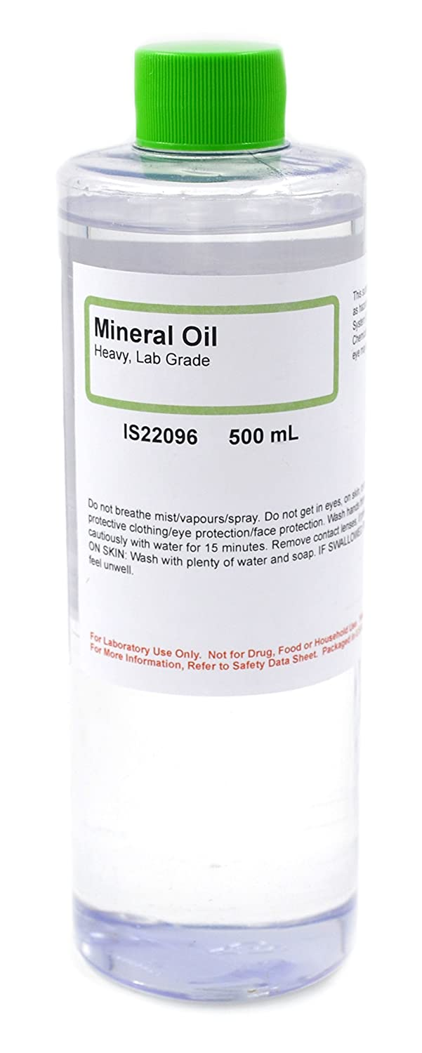 Lab-Grade Heavy Mineral Oil, 500mL - The Curated Chemical Collection