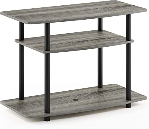 Furinno Turn-N-Tube No Tools 3-Tier TV Stand