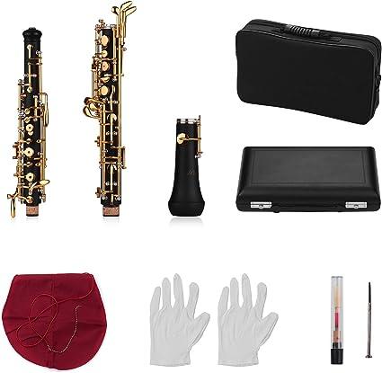1 pc Oboe Fall Abdeckung Mit Oboe Aufbewahrung Tragetasche   Schwarz
