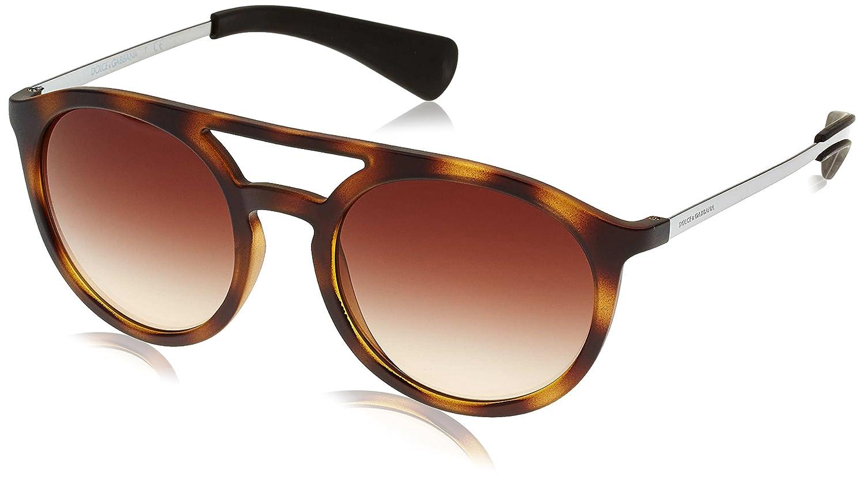 DOLCE & GABBANA Herren 6101 Sonnenbrille 53 mm