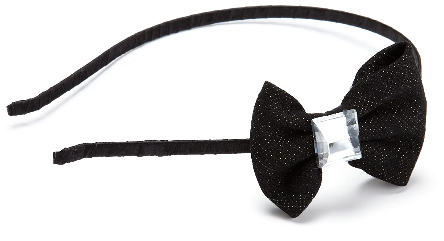 Collection XIIX Womens Small Denim Bow With Stone Headband