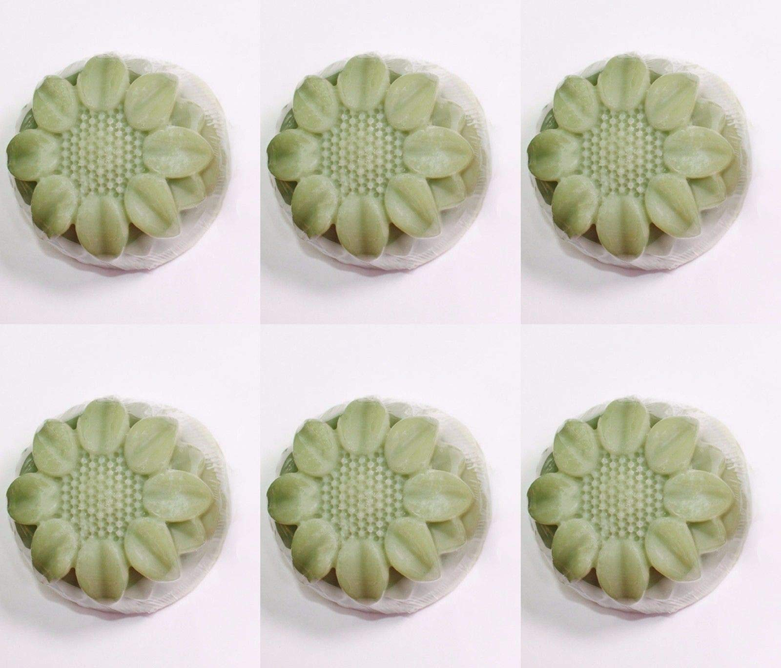 6 Cavity Flower Silicone DIY Handmade Soap Mold Sunflower US Seller