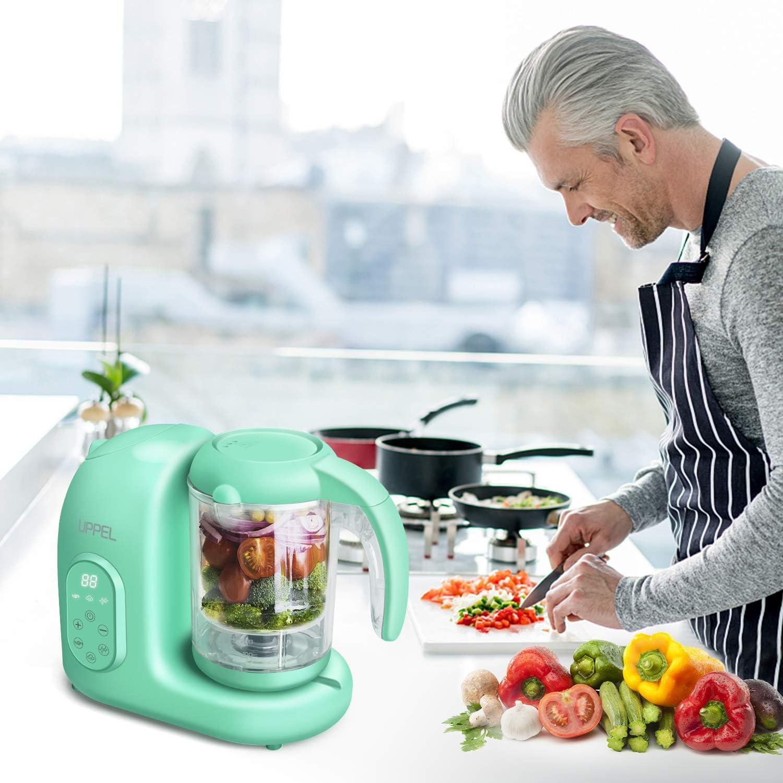 uppel Robot de cocina multifunción para robot de cocina para niños para niños que incluye La fumigación de vapor combinado para formar: Amazon.es: Bebé