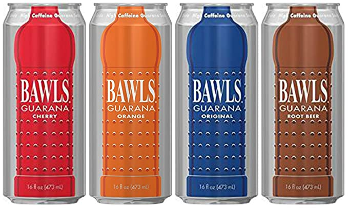 Amazon Com Bawls Energy Drink 4 16oz Cans 4 Flavor Sampler Grocery Gourmet Food