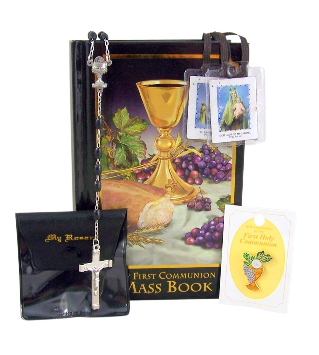 My First Communion Boxed Gift Set for Boys with Body of Christ Mass Book