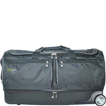 ac47747d2caf EcoGear 28 Inch Wheeled Duffel with Garment Rack
